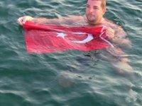 Yüzücü Alper Sunaçoğlu, Anamur'dan Girne'ye yüzecek