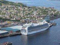 İskoçya, limanlarını kruvaziyer gemilerine kapattı