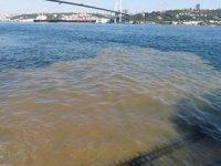 İstanbul Boğazı'nda denizin rengi değişti