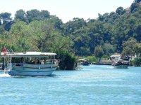 Tekne işletmecileri, Dalyan'da yaz sezonunu açtı