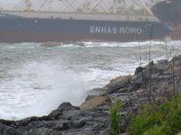 Hasan Şişik isimli Ro-Ro gemisi, Kartal'da sürüklendi