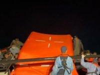 Aydın açıklarında 84 düzensiz göçmen kurtarıldı