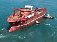 Tersan Tersanesi, Vladimir Biryukov balıkçı gemisini suya indirdi