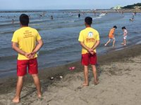 Ordu'da cankurtaran olmayan plajlarda denize girilmesi yasaklandı