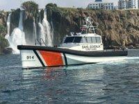 Finike'de yeni Sahil Güvenlik Arama Kurtarma Botu göreve başladı
