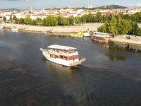 Beyşehir Gölü'nde su seviyesinin azalması yat işletmecilerini tedirgin ediyor