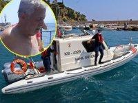 Akıntıya kapılıp denizde mahsur kalan yaşlı adamı Sahil Güvenlik kurtardı