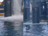 Saros Körfezi'ne dökülen siyah su tepki çekti