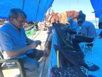 Balıkçılar, yeni sezon öncesi hazırlıklara başladı