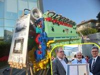 Sulzer'in ürettiği ilk dizel makine, İLKFER Denizcilik Müzesi'nde sergileniyor
