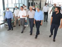 KKTC'li Belediye Başkanları, HADO Limanı'nı ziyaret etti
