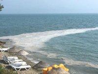 Gemlik sahillerinde yine müsilaj görüldü