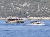 Bodrum'da günlük tekne turlarına talep arttı