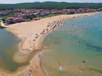 Kandıra'nın mavi bayraklı plajları tatilcileri bekliyor