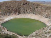 Kuraklık, Kızılçan Gölü'nün rengini değiştirdi