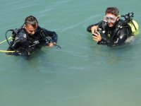 Yumurtalık ve Karataş'ta deniz dibi temizliği yapıldı