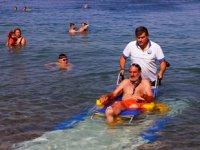 Muğla'da 7 ilçede 20 engelsiz plaj oluşturuldu