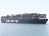Ever Given gemisi, 4 ay sonra Rotterdam'a ulaştı