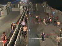Milas'ta vatandaşlar, çıkarma gemileri ile tahliye ediliyor