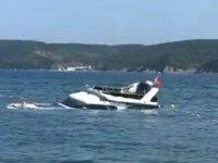 Liman Kuruçeşme isimli tekne, Sarıyer'de battı