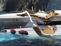 İtalya'da Cesare isimli tanker ile lüks yat çatıştı