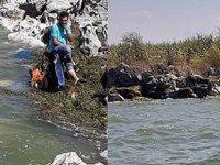 Beyşehir Gölü'ndeki kayıp tekne, kıyıda parçalanmış halde bulundu