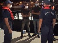 İzmir'de ticari gemideki düzensiz göçmenler yakalandı