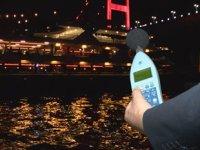 İstanbul Boğazı'nda gezi teknelerinde gürültü denetimi yapıldı