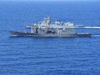 Türk ve Pakistan savaş gemileri, Doğu Akdeniz'de geçiş eğitimleri gerçekleştirdi