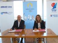 Türkiye Yelken Federasyonu ile Arkas, 2024 Paris Olimpiyat Oyunları için iş birliği anlaşması imzaladı