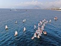 30 Ağustos Zafer Bayramı kutlamasında tekneler görsel şölen oluşturdu
