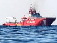 Nene Hatun Gemisi, Akdeniz'de petrol sızıntısı temizlik çalışmasına başladı