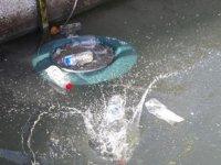 Mersin'de deniz yüzeyindeki atıklar vakumlanarak temizlenecek