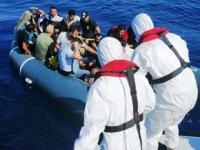 Marmaris'te 18 düzensiz göçmen kurtarıldı