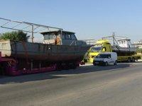 Deniz turizmi için Hatay'a 2 adet tekne hibe edildi