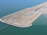 Rize-Artvin Havalimanı'nda dolgunun yüzde 97'si tamamlandı