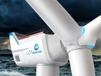 Çinli Mingyang, dünyanın en büyük açık deniz rüzgar türbinini tanıttı