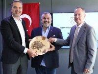 Tamer Kıran ve Oral Erdoğan, Aliağa'yı ziyaret etti