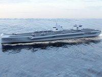 Güney Kore'nin ilk uçak gemisi için çalışmalar sürüyor