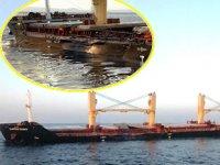 Bozcaada açıklarında çatışan gemilerin görüntüleri ortaya çıktı