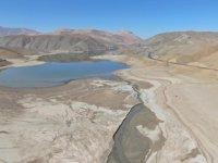 Kuraklık, göl ve barajların su seviyesini düşürdü