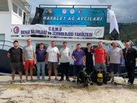 Marmara Denizi'ndeki hayalet ağlar temizlenecek