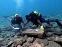Anemurium Antik Kenti'nin limanı, su altında aranıyor