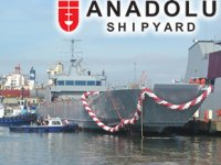 Anadolu Tersanesi, Katar'a inşa ettiği QL80 FUWAIRIT tank çıkarma gemisini suya indirdi