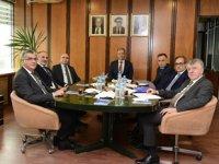 Ünal Baylan, Türk Armatörler Birliği'ni ziyaret etti
