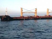 Bozcaada'daki çatışmada hasar alan Clipper Como gemisi, İzmir'e götürüldü