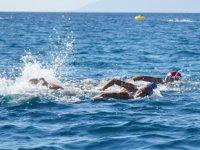 Ayvalık'ta Açık Su Yüzme Şampiyonası heyecanı yaşandı