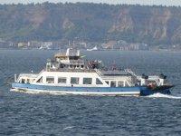 Kabatepe-Gökçeada feribot seferleri iptal edildi