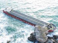 VERA SU gemisinin makina bölümünü su bastı