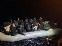 Fethiye'de 36 düzensiz göçmen kurtarıldı